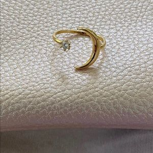 moon and stars ring